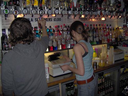 Bar Staff at Cucumara's