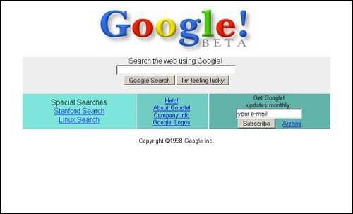google 1998. google-1998