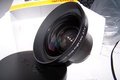 My new purchase (stevec77) Tags: lens kodak box wideangle 55mm lenscap purchase kodakdigitalcamera schneider accessory xenar schneiderkreuznach addon z740 kodakz740 07x