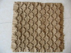 Tanny Tessellation (bottom) by me (georigami) Tags: paper origami papel tessellation papiroflexia teselado