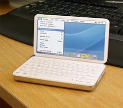 Mini Mac notebook concept mockup