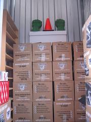 in storage