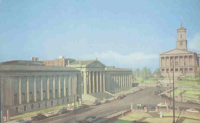 1945: State Capitol and War Memorial Auditorium