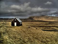 A small church at Krysuvik (Kenny Muir) Tags: church iceland peninsula hdr reykjanes kleifarvatn photomatix krisuvik churchoftheweek specland tthdr