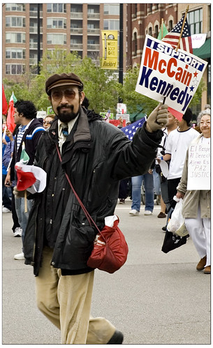 McCain Kennedy supporter