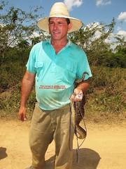 Man with Boa (Erik Daugaard Photography - Copenhagen) Tags: snake maja boa culebra slange epicratesangulifer boacubano erikdaugaard