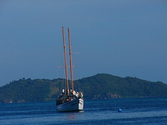 Fiji sailing (JAMES HALLROBINSON) Tags: fiji sailingboat