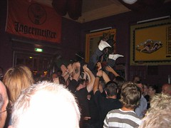 Crowdsurf To The Bar