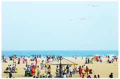 Chennai-Marina (Ravages) Tags: world life street city travel sea sky people urban india beach home water modern marina lights coast sand asia hometown contemporary candid madras streetphotography photojournalism coastal slice shore record metropolis moment chennai indianarchive crowds tamil metropolitan journalism tamilnadu global bayofbengal indianness coastalcity chennapattanam  visitindia visitchennai pattinam chennaipattanam keezhkadal