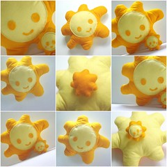 .: Mr. Sun :. (Warm 'n Fuzzy) Tags: summer orange baby sun cute yellow fun toy craft inanimate felt plush softie kawaii warmnfuzzy warmnfuzzynet thebestyellow