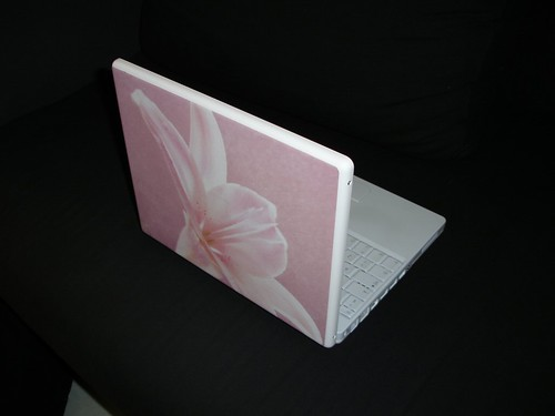 Pink Flower Ibook