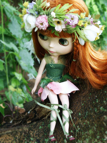 Rose Blossom Fae by just fae.