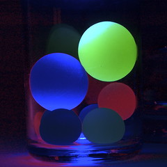 Color Balls (shinichiro*) Tags: light abstract color reflection love japan blog order d70 uv 2006 blacklight 25 getty crazyshin superball 0513 1on1 lightcolor 1on1objects colourlicious flickrsrainbowpics 2009separt08 order500 order20101106 2011getty 107999340 201101sold 2011sold