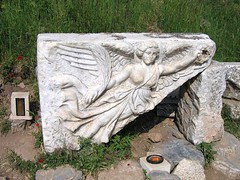 Statue of Nike at Ephesus - by levork