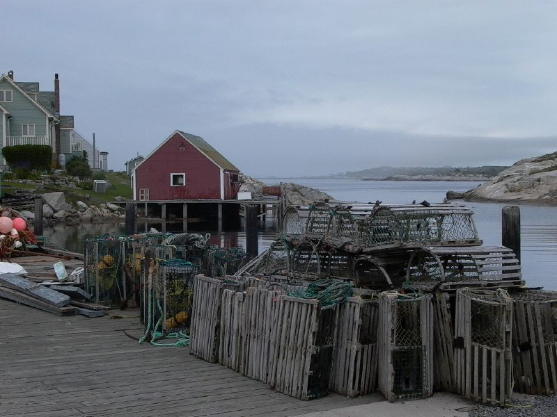 Lobster Traps at Rest