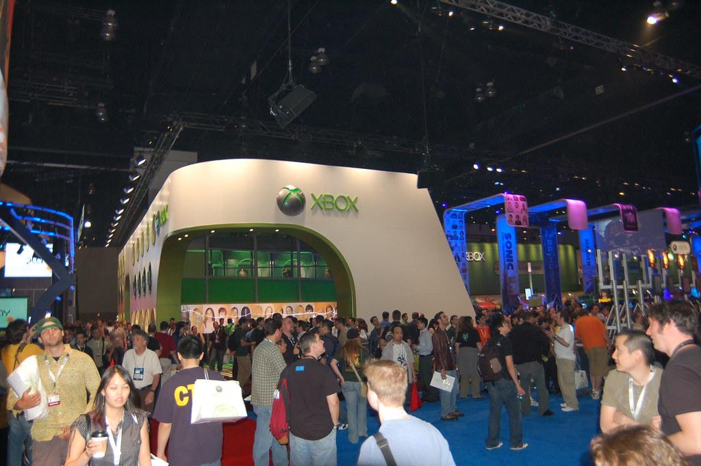 Microsoft's Booth