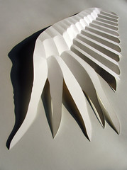 Angel wing (Richard Sweeney) Tags: sculpture art angel paper paperart design wings origami fineart craft folded paperfolding folding papercraft angelwings naturalform papersculpture artsculpture paperstructure 折り紙 richardsweeney paperpleating