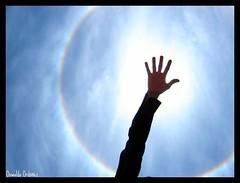 Gran anillo solar.
