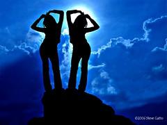 Shadows dancing (steve_steady64) Tags: blue sunset shadow italy cute girl silhouette asian dance shadows exotic romantic pinay filipina oriental trentino dolomites stevegatto stevegatto stevegattofolgarida extremedesign