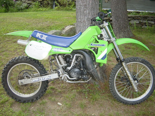 my 1986 honda cr250r evan fell motorcycle worksevan fell 1986 kawasaki kx250