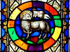 Lamb of God (Simon_K) Tags: church sheep norfolk churches eastanglia aslacton norfolkchurches wwwnorfolkchurchescouk