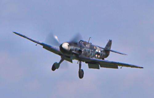Warbird picture - Messerschmitt Bf-109 landing