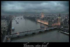 The thames (Nanaki) Tags: uk bridge england storm london thames boat unitedkingdom bigben riverbank stavelin thethames eirikstavelin