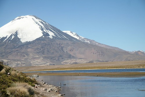 Lago Chungará, 4600m above sea level.