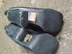 Tiny boots with slight platform (4) (alf western) Tags: boots platform worn heels