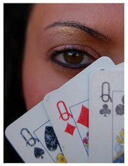 The Winning Card (Ketosea) Tags: portrait baby sexy love face closeup composition gold idea cool eyes explorer best queen affair divertenti herts trucco woma azzardo girlo cartedagioco ombretto ketosea mattita