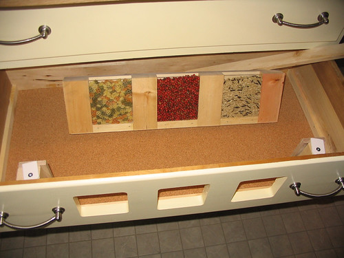 kitchen island drawer insert