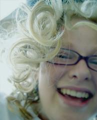 (devan.louise) Tags: girl playground hair remember curls slide hanging steiv