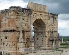 Victory (icelight) Tags: africa ruins arch roman morocco springbreak triumphalarch volubilis