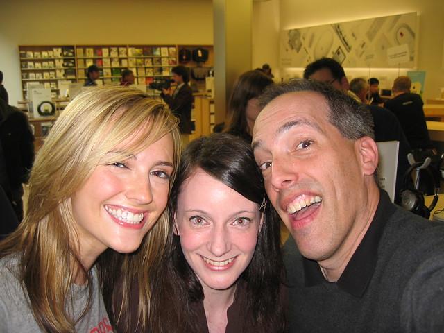 Amanda Congdon, Casey McKinnon, & Steve Garfield!