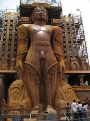 The Gomateshwara temple