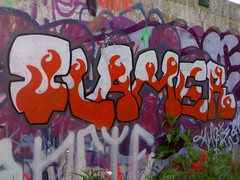 Flamer graffiti
