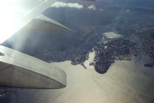 Window view Bergen