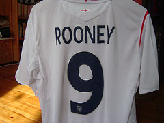 Rooney's back (mightymightymatze) Tags: england berlin germany manchester deutschland football fussball soccer 9 2006 wm jersey worldcup 50 forward rooney nationalteam striker fuball threelions wm2006 trikot waynerooney worldcup2006 strmer nationalmannschaft comeonengland roonaldo twoworldwarsandoneworldcup rememberwembley66