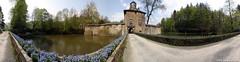 360 Schloss Crottorf, Crottorf Castle (TiBooX) Tags: panorama castle germany paradise canoneos10d schloss sigma1224mm qtvr 360 quicktimevr paradies cylindrical perfectpanoramas wwwxcoffeede friesenhagen nodalninja crottorf