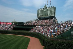 Chicago: Wrigley Field - Outfield Bleachers