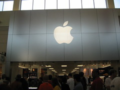 The new Apple Store, Memorial City Mall, Houston, Texas (.imelda) Tags: city apple store memorial applestore scientology imelda bettinger imeldabettinger