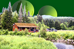 Eastwind # 2 (Crick3) Tags: cabin stream photoshopped small nh flyfishing mayoffend pittsburg whatruhigh thebiggestgroup lopstick allfromaphotographicsource nipthis shouldnotbenipsad