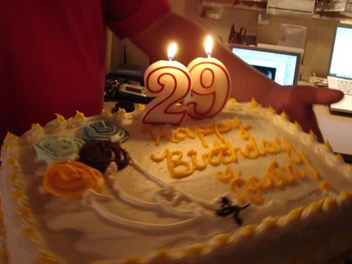 Открытка с 29 летием день рождения парню, надписью