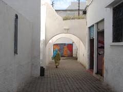 street from azemmour (*ADNxtc*) Tags: street wall paint morocco maroc medina azemmour