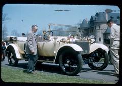 10 - VMCCA Rally, April 1957 (Jon Delorey) Tags: auto car antique rally 1957 vscc larzanderson automoble lanchester vmcca