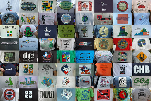 Geocaching T-shirts