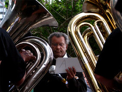 Anthony Braxton (digital_freak) Tags: show nyc music newyork concert gig livemusic jazz 2006 tuba worldfinancialcenter bangonacan braxton experimentalmusic contemporarymusic anthonybraxton digitalfreak bangonacanmarathon