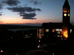 Sunset at Cornell (foreverdigital) Tags: clocktower cornell cornelluniversity collegecampus cornellcampus mcgrawtower cornelluniversitycampus
