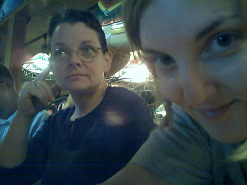 Mom and me at Applebee's