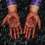 the color of mehndi